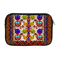 Smile And The Whole World Smiles  On Apple Macbook Pro 17  Zipper Case
