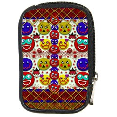 Smile And The Whole World Smiles  On Compact Camera Cases