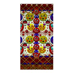 Smile And The Whole World Smiles  On Shower Curtain 36  X 72  (stall)