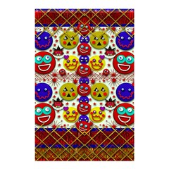 Smile And The Whole World Smiles  On Shower Curtain 48  X 72  (small)