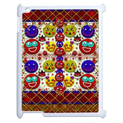 Smile And The Whole World Smiles  On Apple Ipad 2 Case (white)