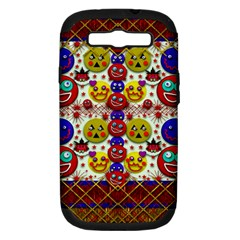 Smile And The Whole World Smiles  On Samsung Galaxy S Iii Hardshell Case (pc+silicone)