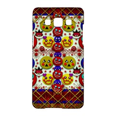 Smile And The Whole World Smiles  On Samsung Galaxy A5 Hardshell Case