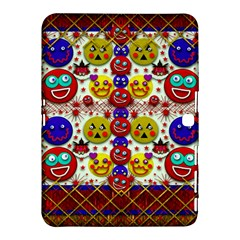 Smile And The Whole World Smiles  On Samsung Galaxy Tab 4 (10 1 ) Hardshell Case