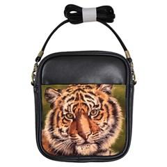 Tiger Cub Girls Sling Bags