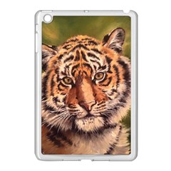 Tiger Cub Apple iPad Mini Case (White)