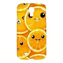 Cute orange  Samsung Galaxy S4 I9500/I9505 Hardshell Case