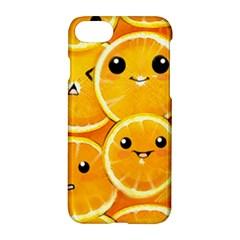Cute Orange  Apple Iphone 7 Hardshell Case