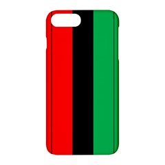 Kwanzaa Colors African American Red Black Green  Apple Iphone 7 Plus Hardshell Case
