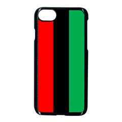 Kwanzaa Colors African American Red Black Green  Apple Iphone 7 Seamless Case (black)