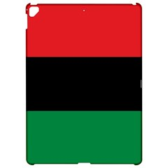 Pan African UNIA Flag Colors Red Black Green Horizontal Stripes Apple iPad Pro 12.9   Hardshell Case