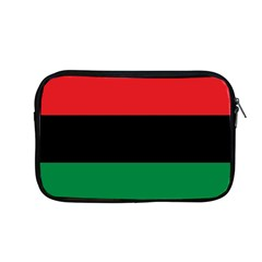 Pan African Unia Flag Colors Red Black Green Horizontal Stripes Apple Macbook Pro 13  Zipper Case