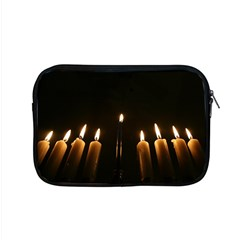 Hanukkah Chanukah Menorah Candles Candlelight Jewish Festival Of Lights Apple Macbook Pro 15  Zipper Case