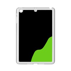 Black And Green Ipad Mini 2 Enamel Coated Cases
