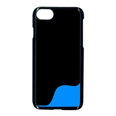 Blue And Black Apple Iphone 7 Seamless Case (black)