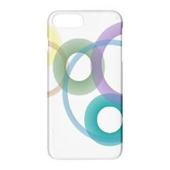 Rainbow Colors Circles Apple Iphone 7 Plus Hardshell Case