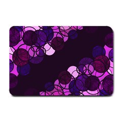 Purple bubbles Small Doormat