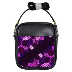 Purple bubbles Girls Sling Bags