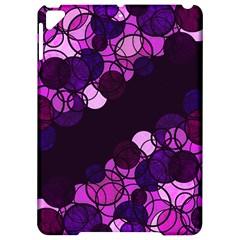 Purple Bubbles Apple Ipad Pro 9 7   Hardshell Case