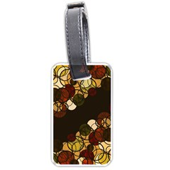 Autumn bubbles Luggage Tags (One Side)