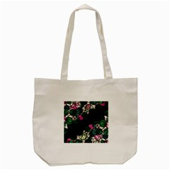 Green and pink bubbles Tote Bag (Cream)