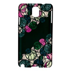 Green And Pink Bubbles Samsung Galaxy Note 3 N9005 Hardshell Case