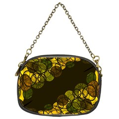 Yellow Bubbles Chain Purses (one Side)