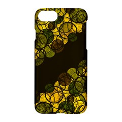 Yellow Bubbles Apple Iphone 7 Hardshell Case
