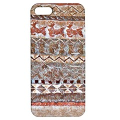 Holmes Christmas Jumper In Gingerbread Apple Iphone 5 Hardshell Case With Stand
