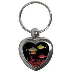 Corals Key Chains (heart)