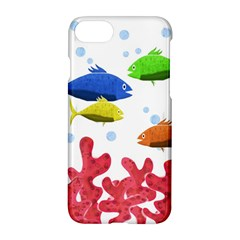 Corals And Fish Apple Iphone 7 Hardshell Case