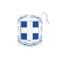 Coat Of Arms Of Greece Drawstring Pouches (xs)