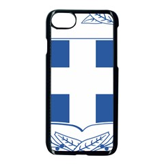 Coat Of Arms Of Greece Apple Iphone 7 Seamless Case (black)
