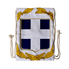 Variant Coat Of Arms Of Greece  Drawstring Bag (small)