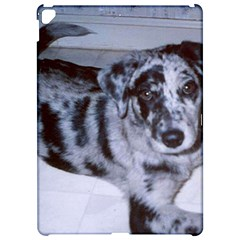 Blue Merle Puppy  Catahoula Apple iPad Pro 12.9   Hardshell Case