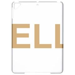 Yellow Lab Love Apple iPad Pro 9.7   Hardshell Case