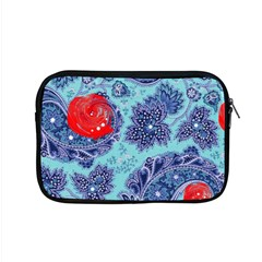 Red Pearled Roses Apple Macbook Pro 15  Zipper Case