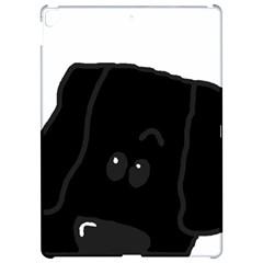 Peeping Newfie Apple iPad Pro 12.9   Hardshell Case