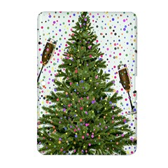 New Year S Eve New Year S Day Samsung Galaxy Tab 2 (10.1 ) P5100 Hardshell Case