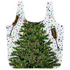 New Year S Eve New Year S Day Full Print Recycle Bags (L)