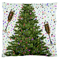 New Year S Eve New Year S Day Standard Flano Cushion Case (Two Sides)