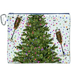 New Year S Eve New Year S Day Canvas Cosmetic Bag (XXXL)