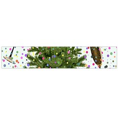 New Year S Eve New Year S Day Flano Scarf (Large)