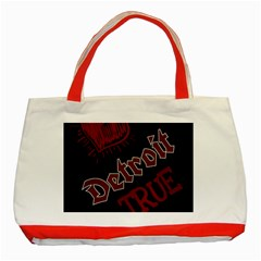 Dcldtv1 Classic Tote Bag (red)
