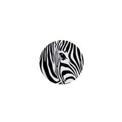 Animal Cute Pattern Art Zebra 1  Mini Buttons