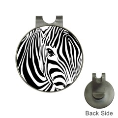 Animal Cute Pattern Art Zebra Hat Clips with Golf Markers