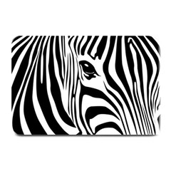 Animal Cute Pattern Art Zebra Plate Mats