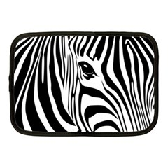Animal Cute Pattern Art Zebra Netbook Case (medium)