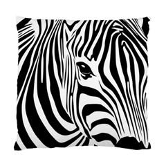 Animal Cute Pattern Art Zebra Standard Cushion Case (Two Sides)