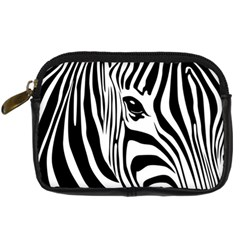 Animal Cute Pattern Art Zebra Digital Camera Cases